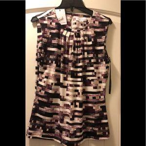 Calvin Klein NWT plum shirt